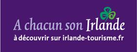 Irlande tourisme L'office du tourisme d'Irlande chargée de promouvoir la pêche en Irlande est à notre côté depuis toujours.